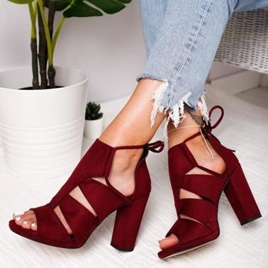 Limoya Ayakkabı Bordo